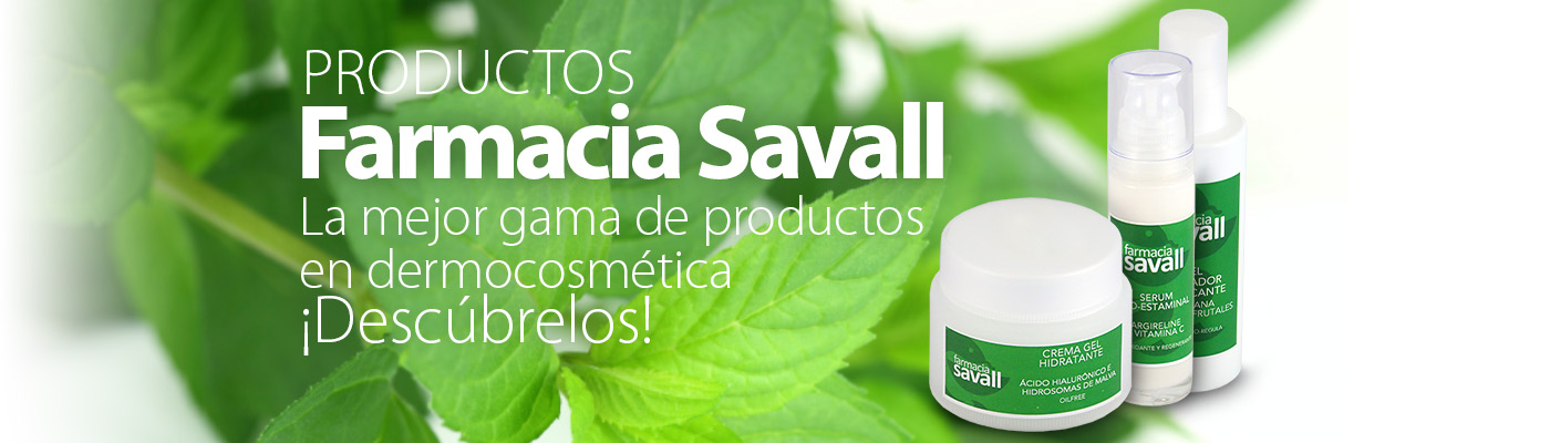 Productos Farmacia Savall